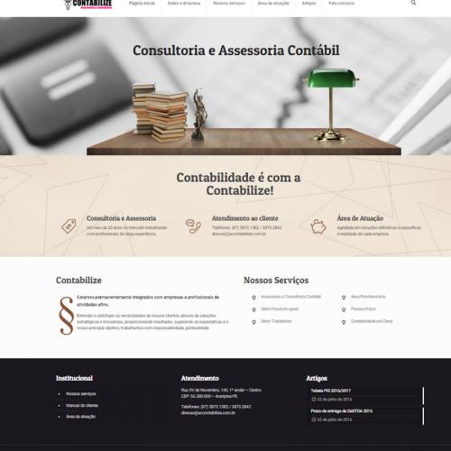 Contabilize – Assessoria e Consultoria Contábil